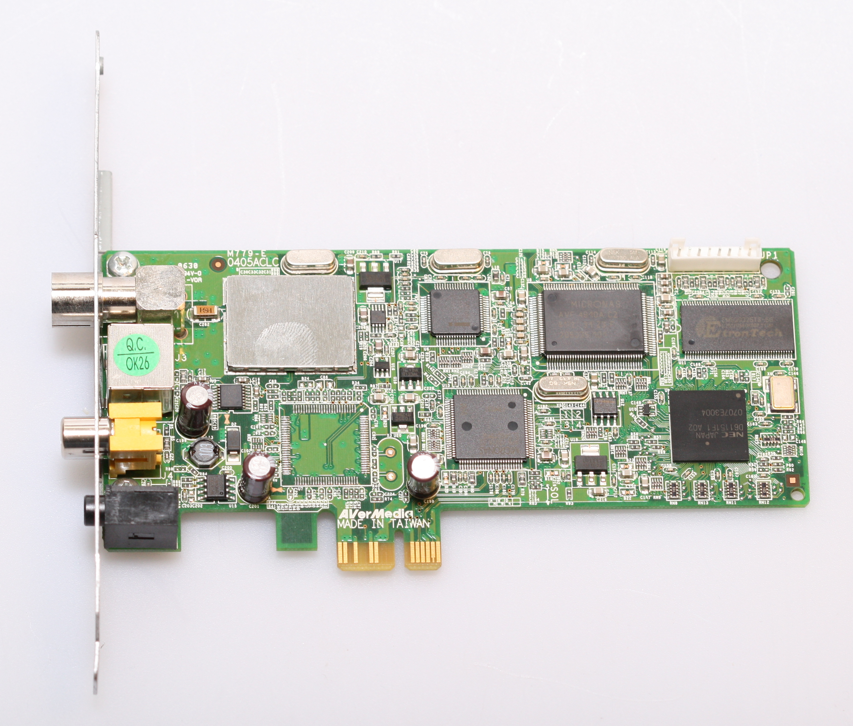 NEW DRIVER: AVERMEDIA M779 PCIE TUNER