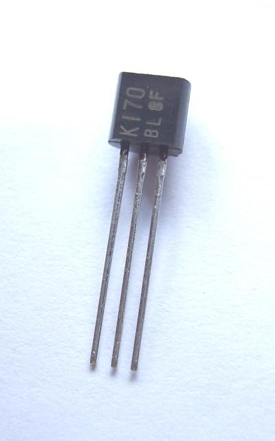 N-FET 40V 20mA 0 4W TO-92