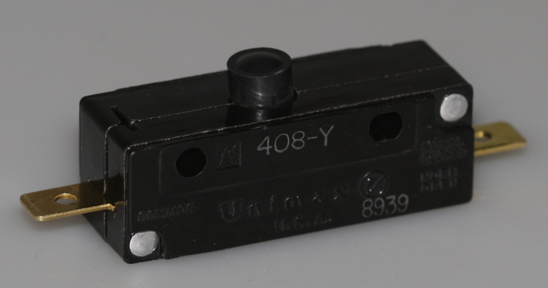 Microswitch 46x21x16mm 1a Slutte Elektronik Lavpris Aps
