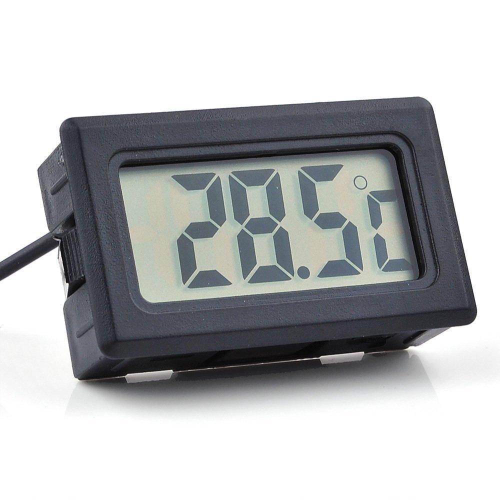Panel termometer 50 c til 70 c elektronik lavpris aps - Temperatura freezer casa ...