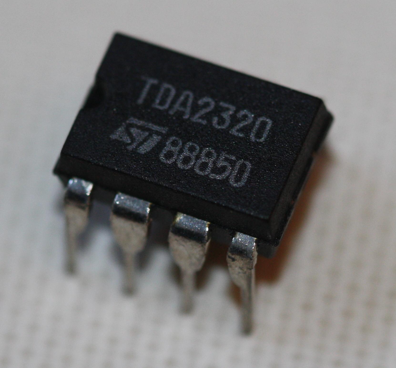 Bridge Stereo Amp 22w Multiwatt11 Elektronik Lavpris Aps Tda4935 Amplifier Circuit Preamplifier Dip 8