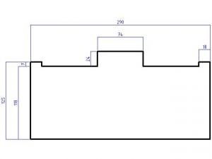 ISO kabel for Pioneer (16 pin) modeller fra 2002