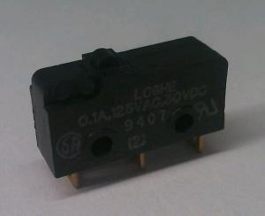 Microswitch 20x10 2x6 3mm Uden Arm Elektronik Lavpris Aps