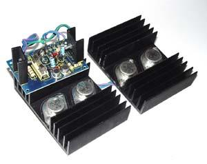 Utrolig FÆRDIGSAMLET: OMFORMER 12V DC TIL 220V AC | Elektronik Lavpris Aps KU-48